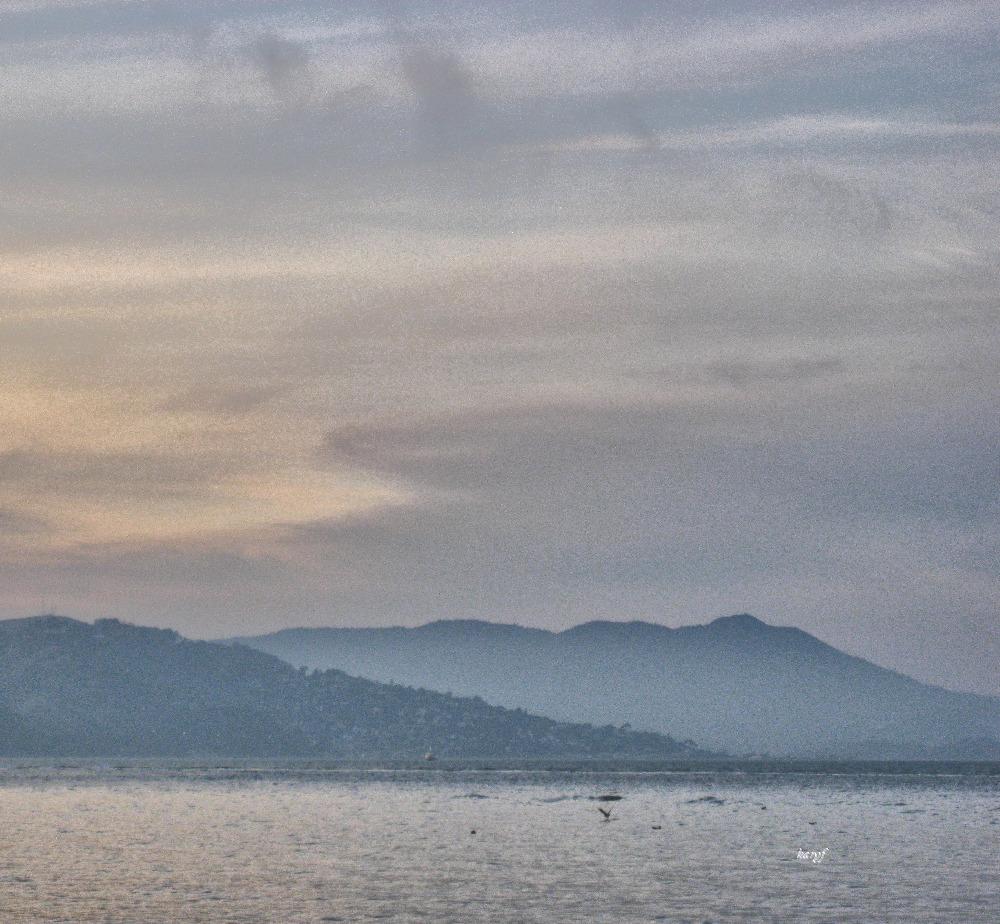 Dusk horizon